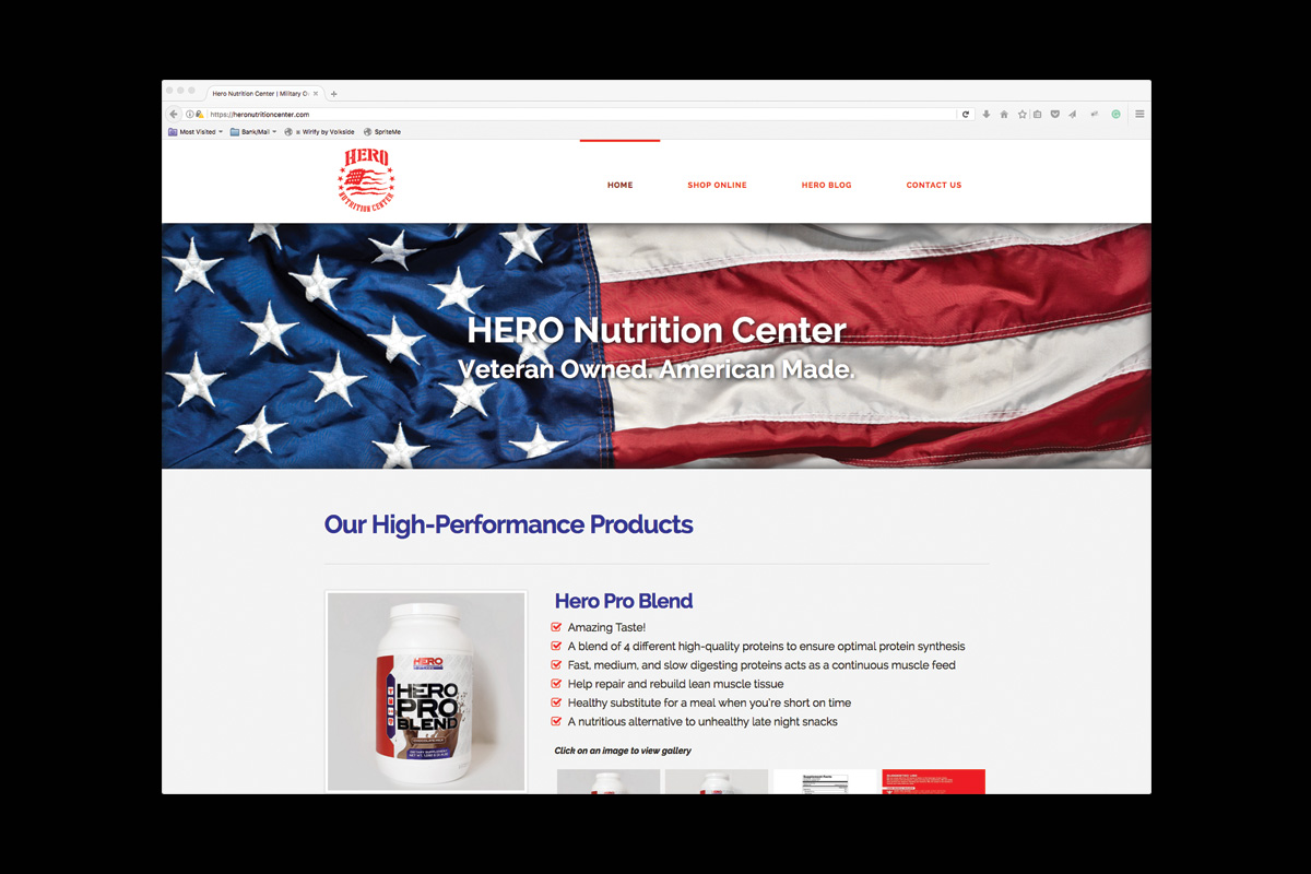 Hero Nutrition Center